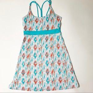 Soybu athletic dress coral aqua Medium